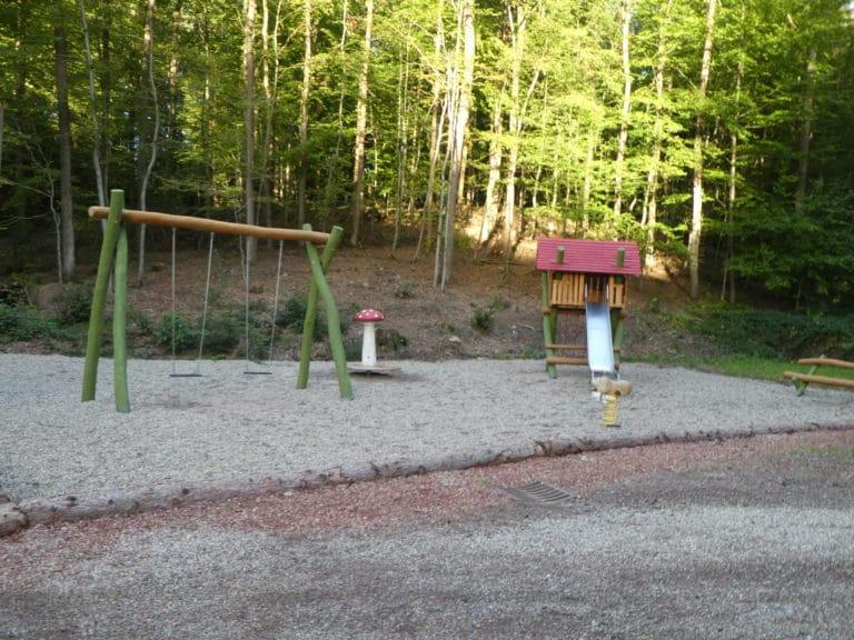 Waldspielplatz am Saufangweiher