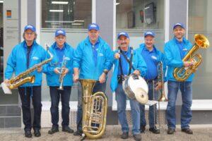 Marching-Band vor dem SSC