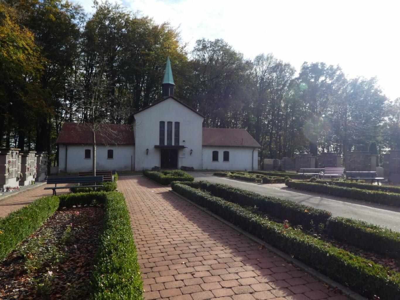 Außenanlage Friedhof Friedrichsthal