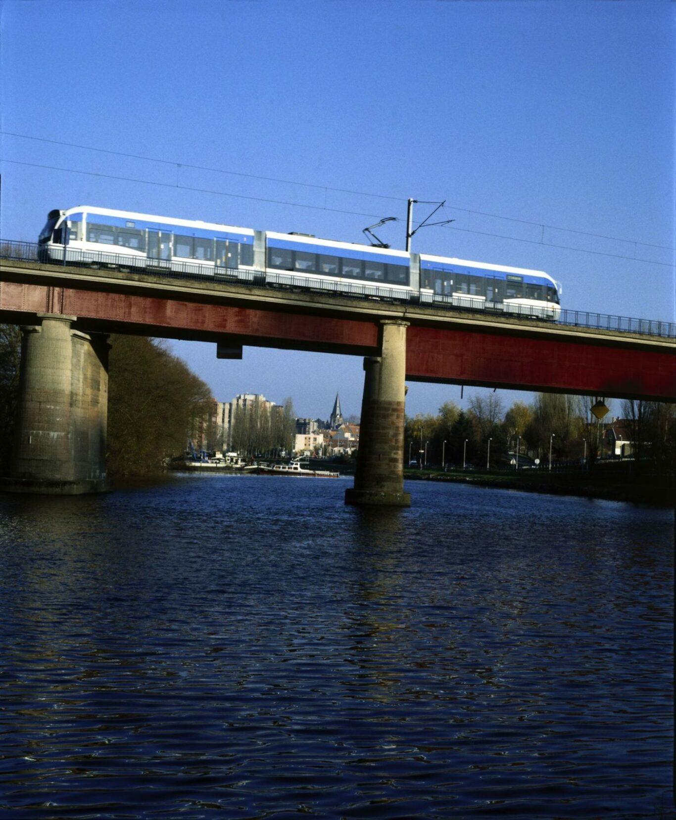 Saarbahn nach Sarreguemines