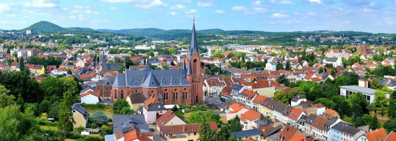 Stadtansicht St. Ingbert