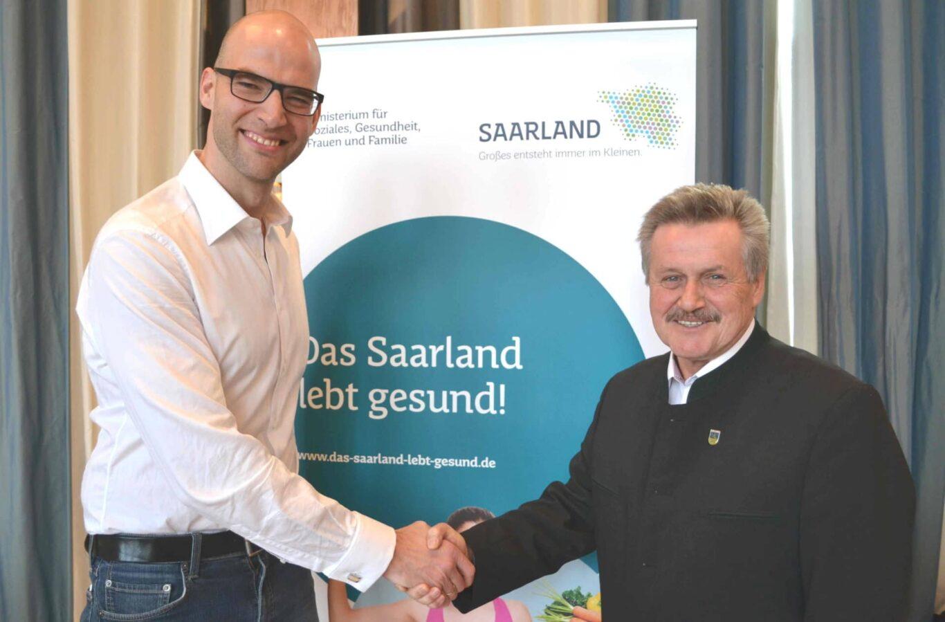 Saarland lebt gesund