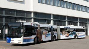 Gelenkbus der Saarbahn, Bild: Saarbahn / Iris Maurer