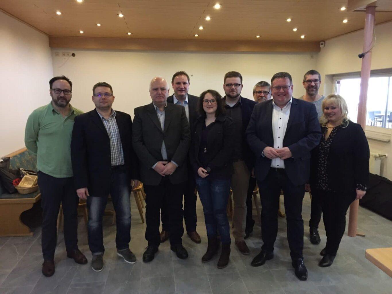 CDU Neujahrsempfang Bildstock Maybach
