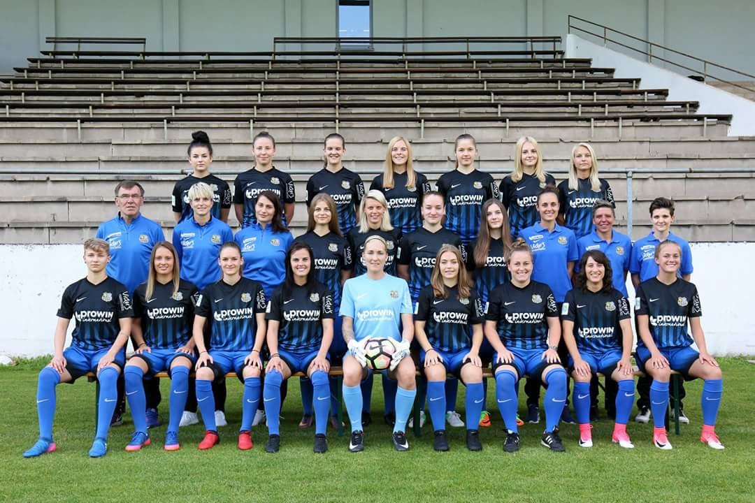 Mannschaftsfoto der Damenmannschaft des FC Saarbrücken, Bild: FC-Saarbruecken.de