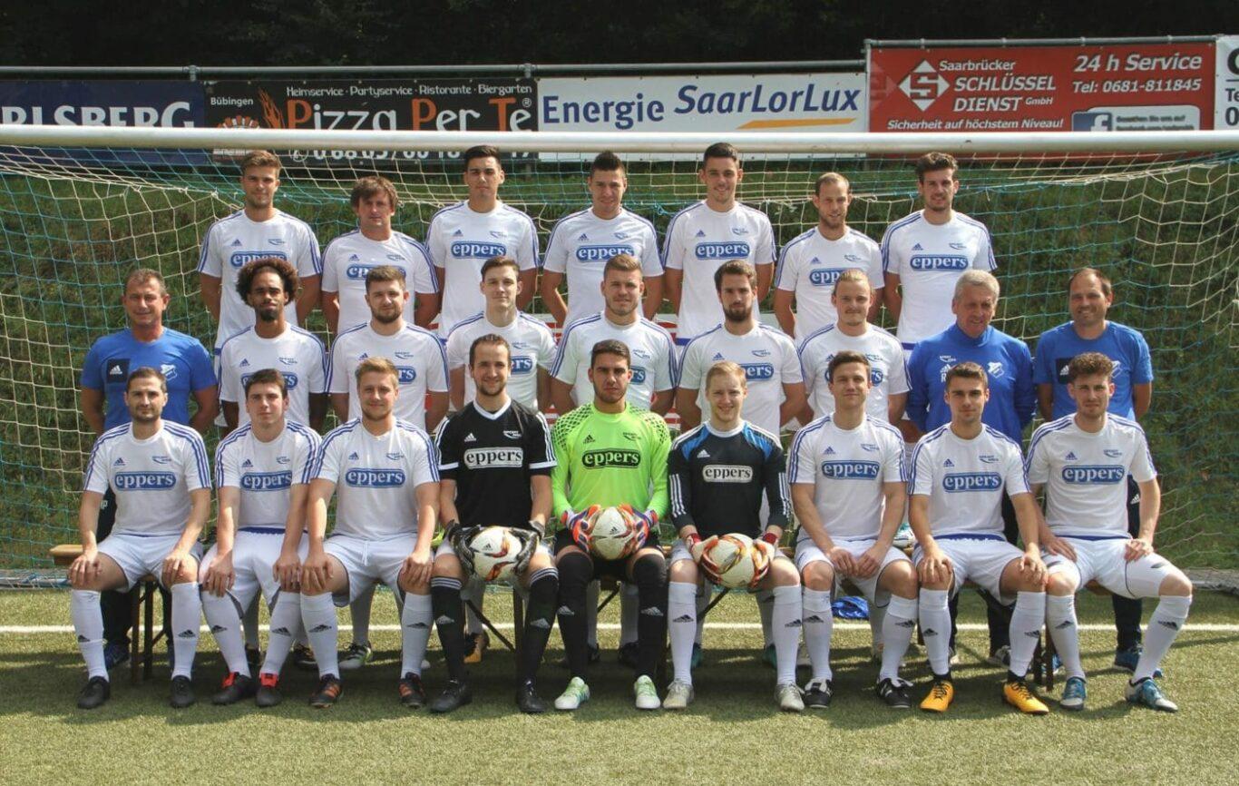Mannschaftsfoto der 1. Mannschaft, Bild: SV 09 Bübingen