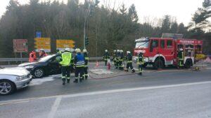 Bild Verkehrsunfall L126