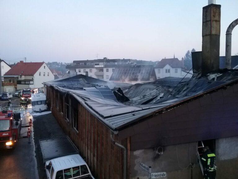 Großbrand Friedrichsthal