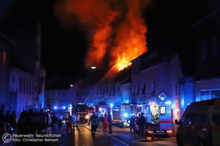 Wiebelskirchen Brand