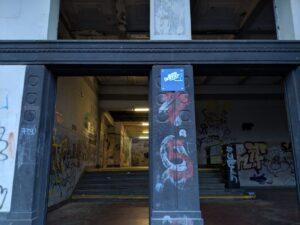 Eingangsbereich Bahnhof Friedrichsthal