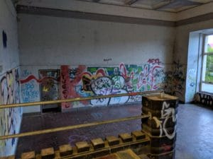 Ehemalige Schalterhalle