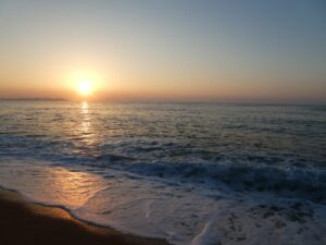 Sonnenaufgang an der Costa Brava