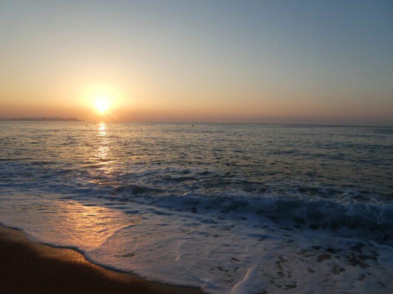 Sunrise on the Costa Brava