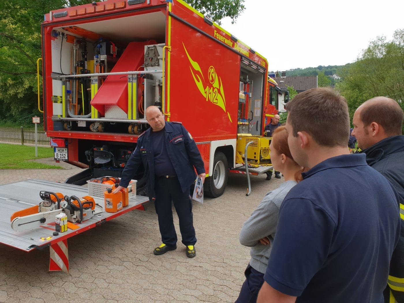 Gemeinsamer Maschinisten-Lehrgang der Feuerwehren Blieskastel und St. Ingbert