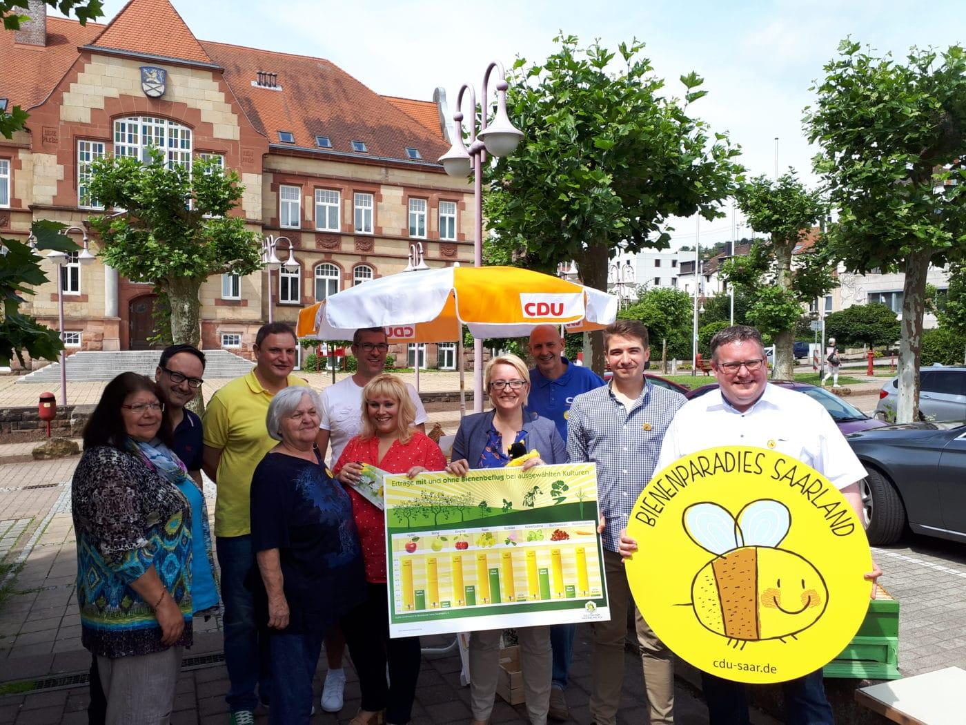 Friedrichsthaler CDU macht sich für Bienen stark