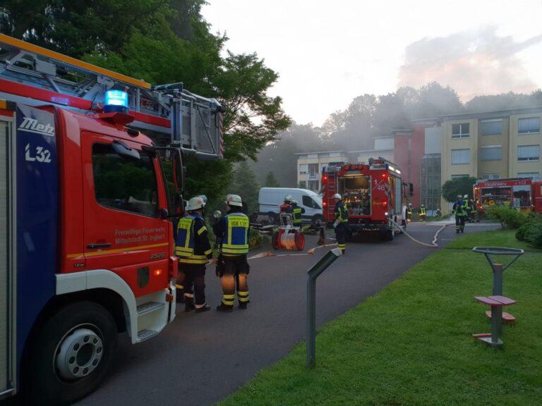 Brand im Pflegeheim St. Anna, Bild: FW St. Ingbert