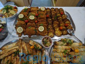 Couscous mit Garnelen