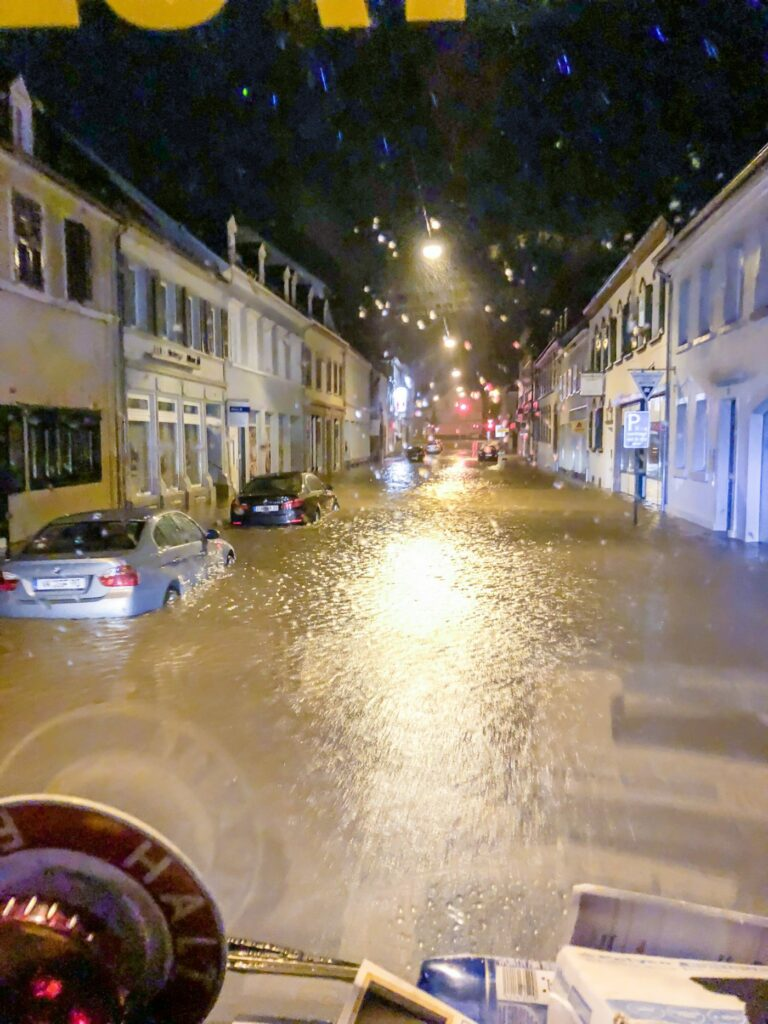 Unwetter in St. Ingbert