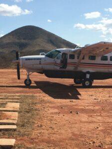 MIt dem Flugzeug nach Kenia