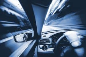 Widok z samochodu
