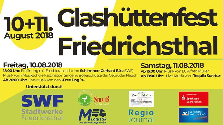 4. Glashüttenfest Friedrichsthal