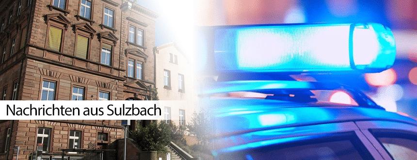 Festnahme in Sulzbach: War es ein Exhibitionist?