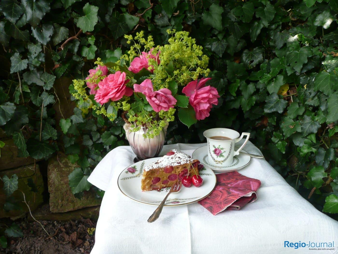 Rezept: Kirschkuchen 'Brusler Kerschenplotzer'