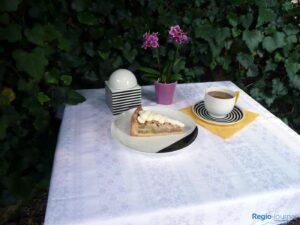 Rhabarberkuchen lecker