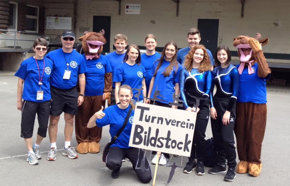 Mitglieder des Turnvereins Bildstock