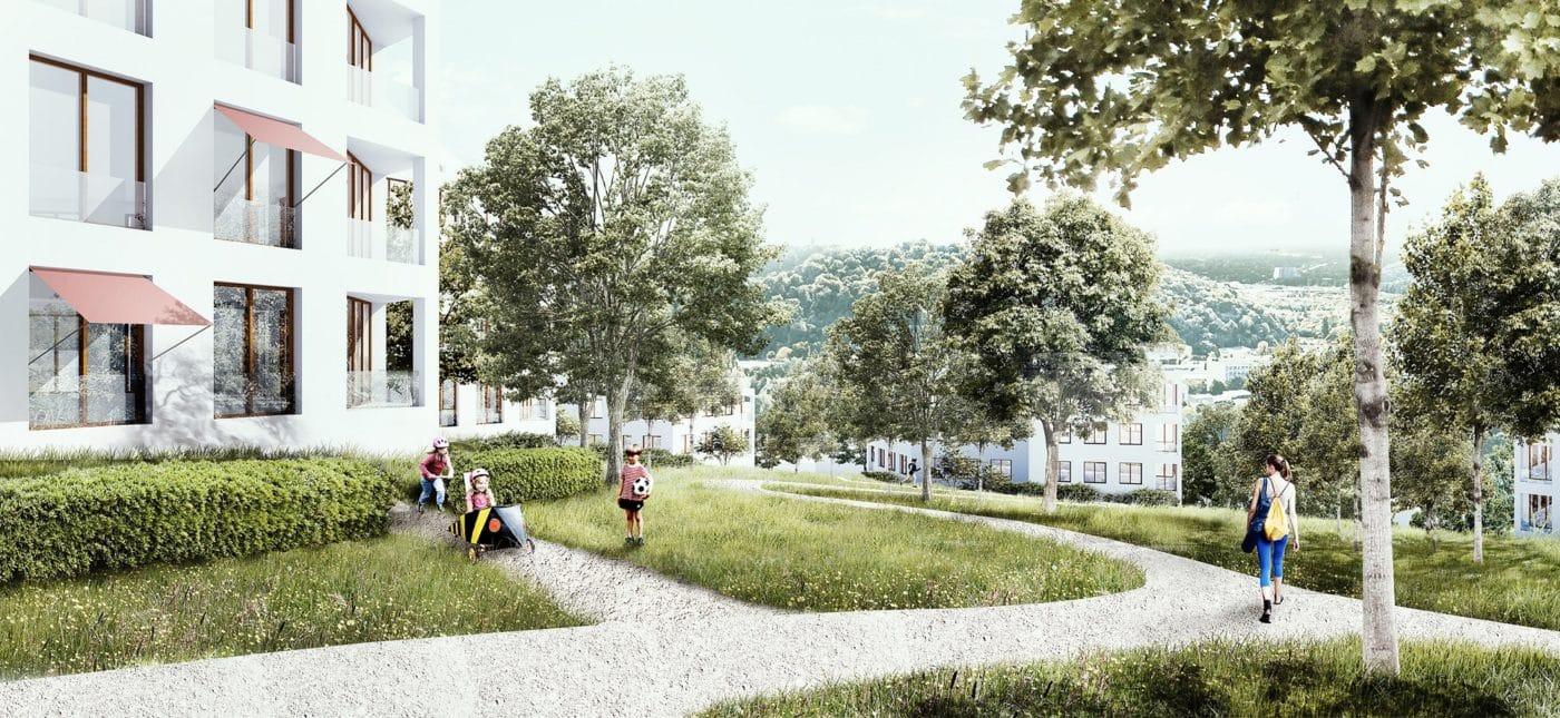 Infoveranstaltung über neues Wohnquartier am Heidenkopf in Saarbrücken
