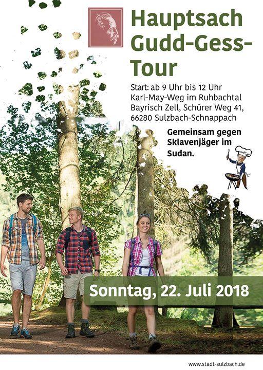 Gudd gess Tour 2018 Auf dem Karl May Weg durch das Ruhbachtal