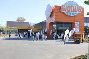 Der Globus Markt in Rüsselsheim, Bild: Globus SB-Warenhaus Holding GmbH & Co. KG