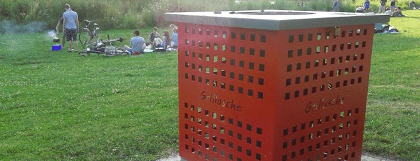 Grillen derzeit verboten, Bild: Landeshauptstadt Saarbrücken