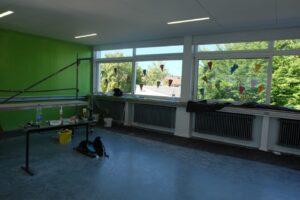 Aula der Grundschule Heiligenwald