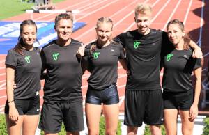 The team around the SCF, Image: SCF Dept. Athletics