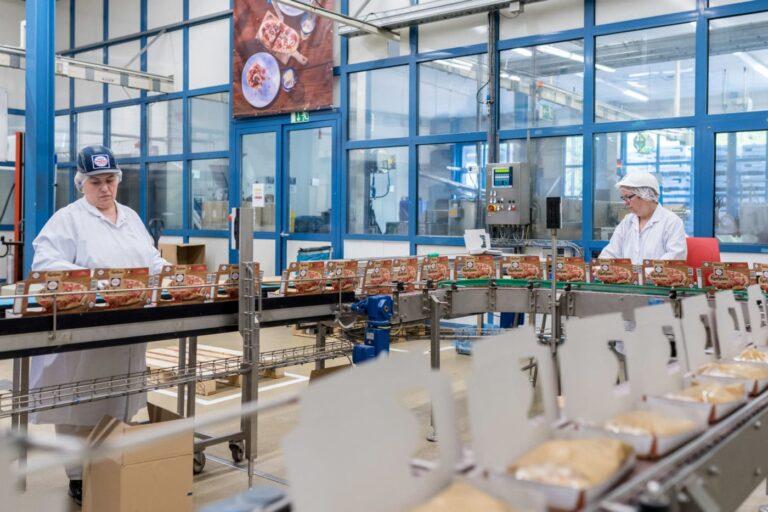 Im Inneren des Produktionsstandortes Nonnweiler | Foto: Dirk Guldner / Nestlé-Wagner