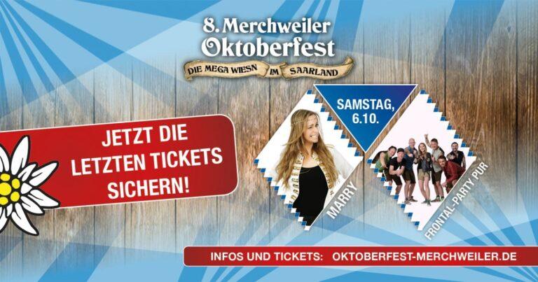Oktoberfest Merchweiler - letzte Tickets sichern | Alm Event Gastro GmbH
