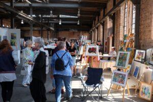 4. Art workshop in Landsweiler Reden