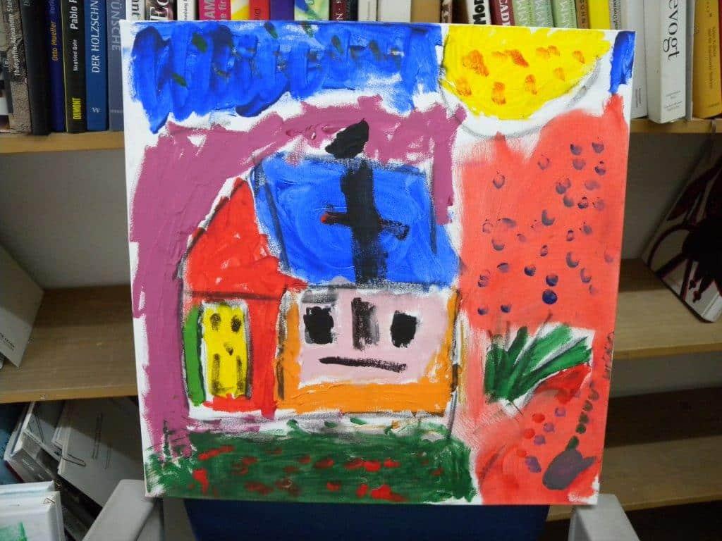 """Ausstellung """"Malen mit leuchtenden Farben"""