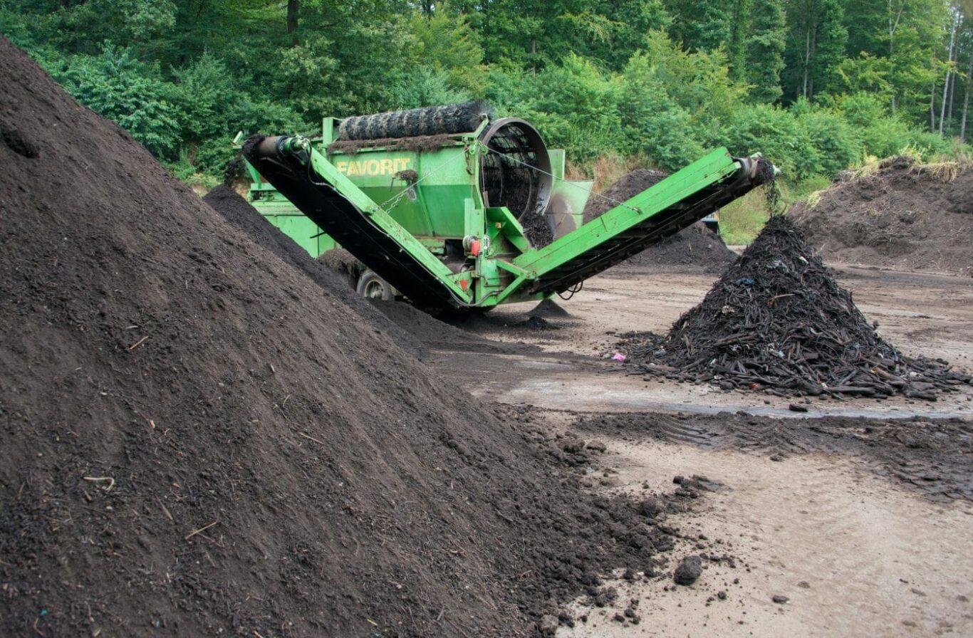 Kompostieranlage St. Ingbert   Bild: Haßdenteufel