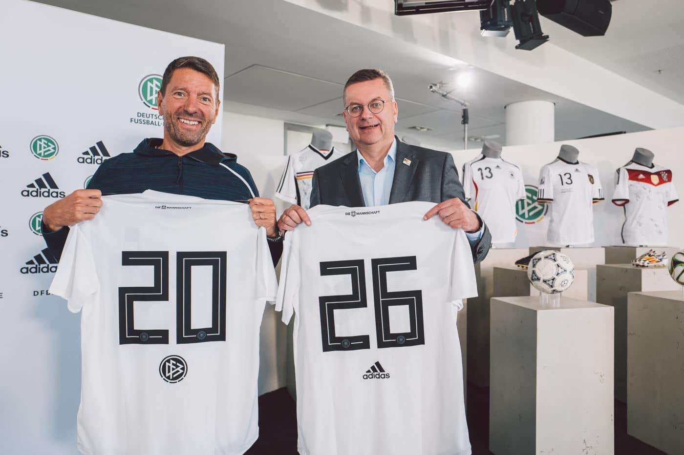 adidas bis 2026 Ausrüster des DFB