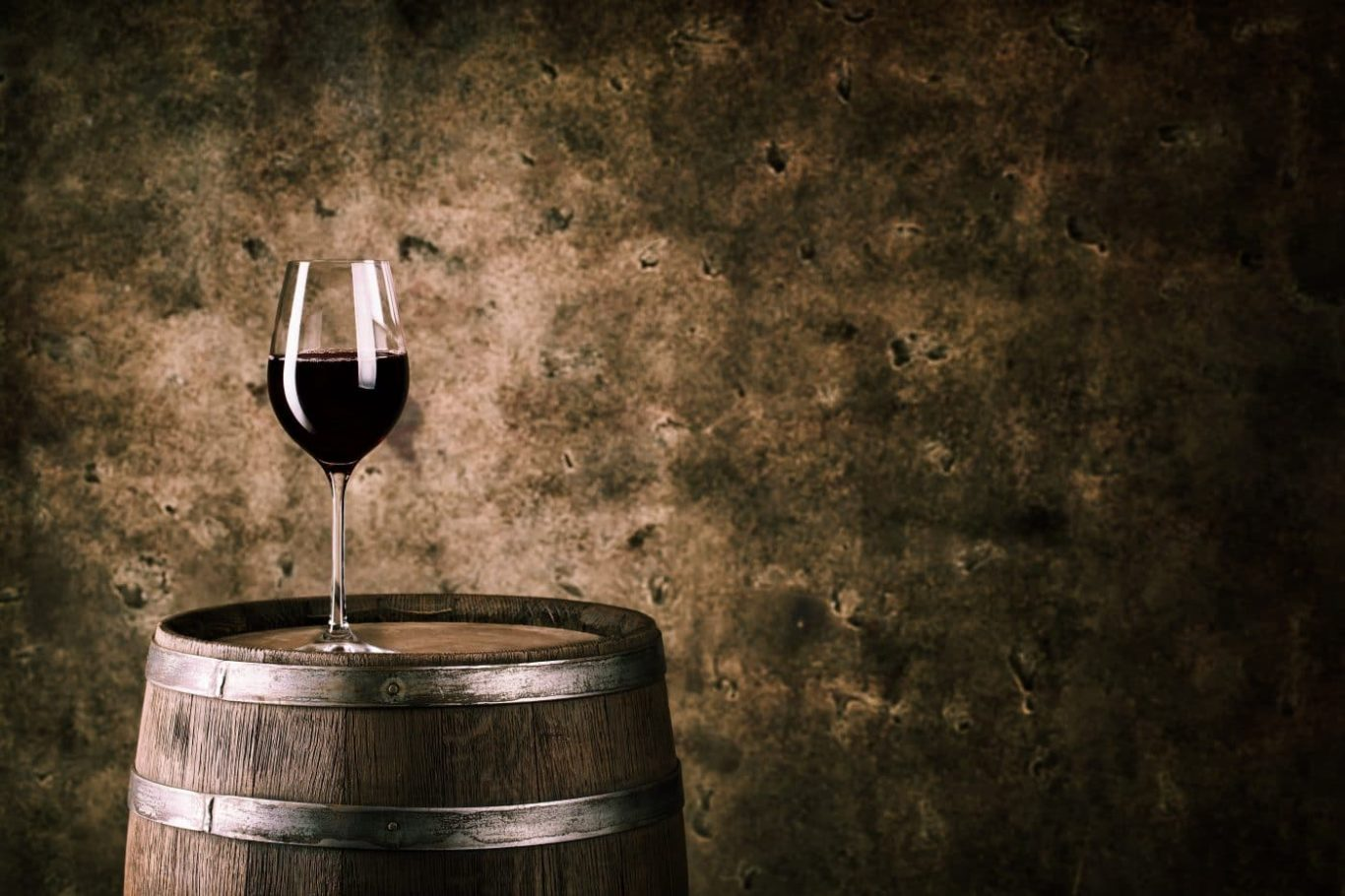 Ein leckeres Glas Rotwein