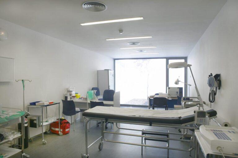 Der Blick ins Krankenzimmer