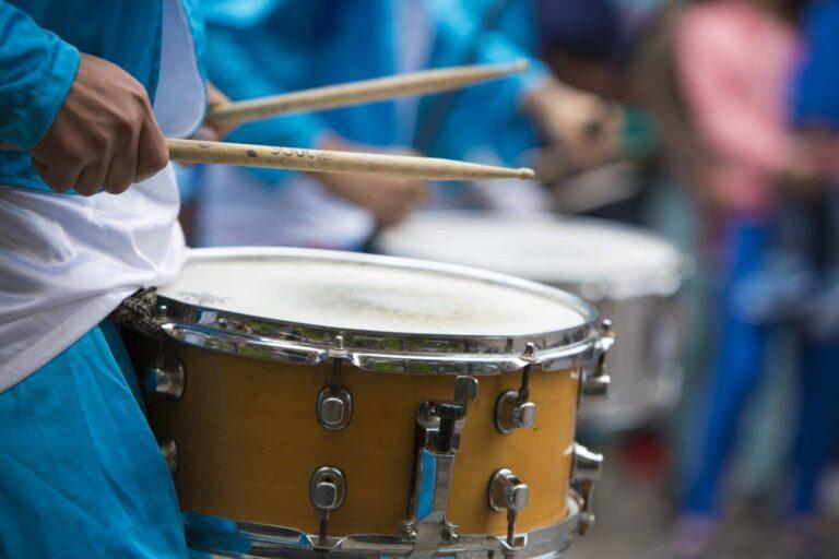 Schlagzeuger im Karneval