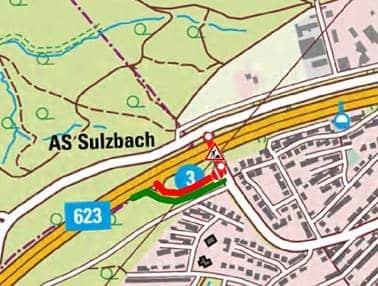 Sulzbach Bauarbeiten Goldene Au