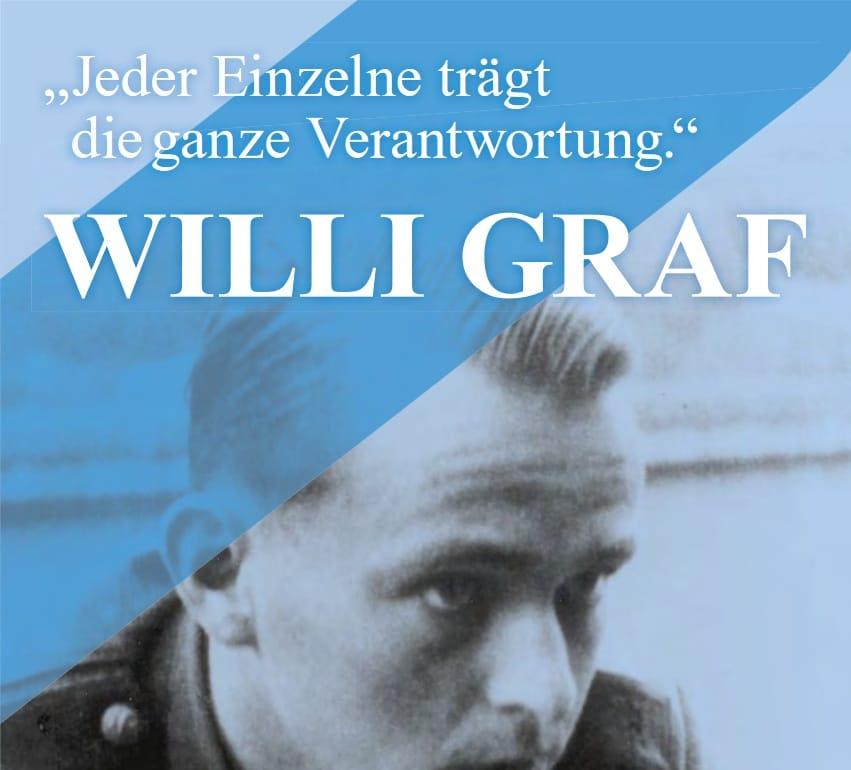 Landeshauptstadt gedenkt Willi Graf anlässlich seines 75. Todestages am 12. Oktober