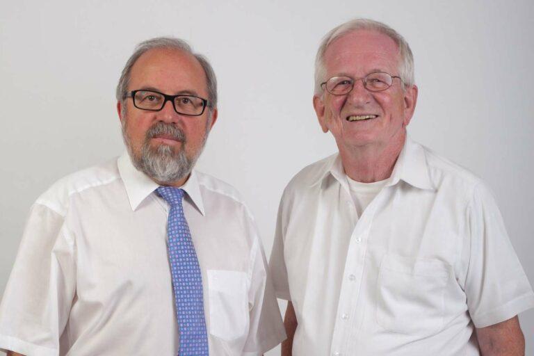 Wolfgang Weisgerber und Michael Trittelvitz | Bild: Die Unabhängigen IGB