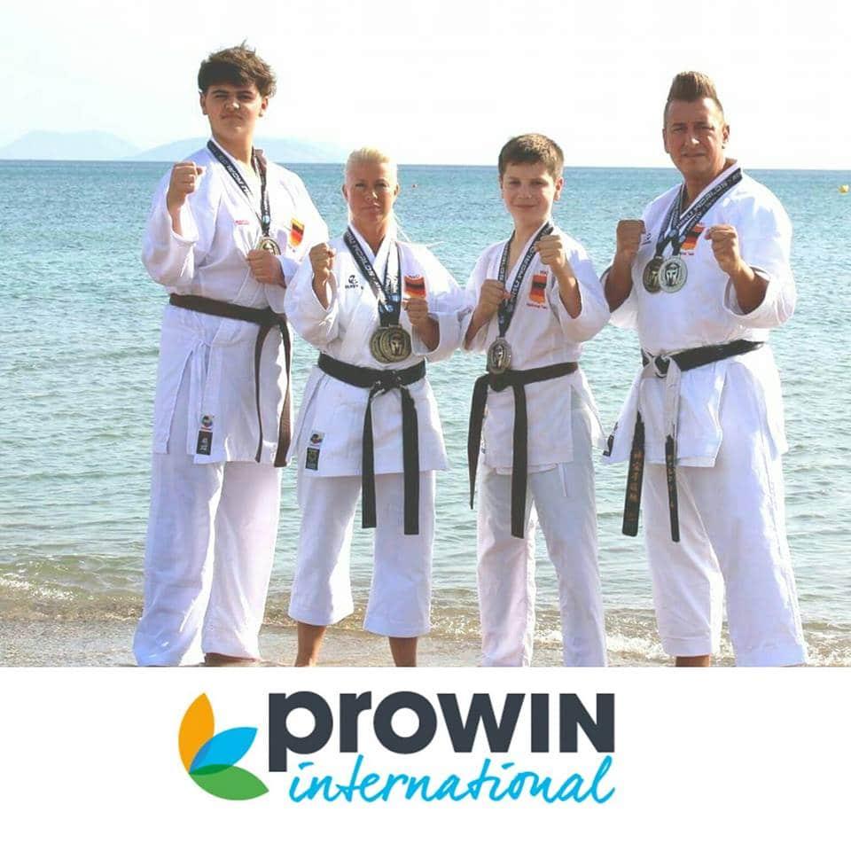Schiffweiler Karate-Athleten bringen WM-Medaillen aus Athen mit