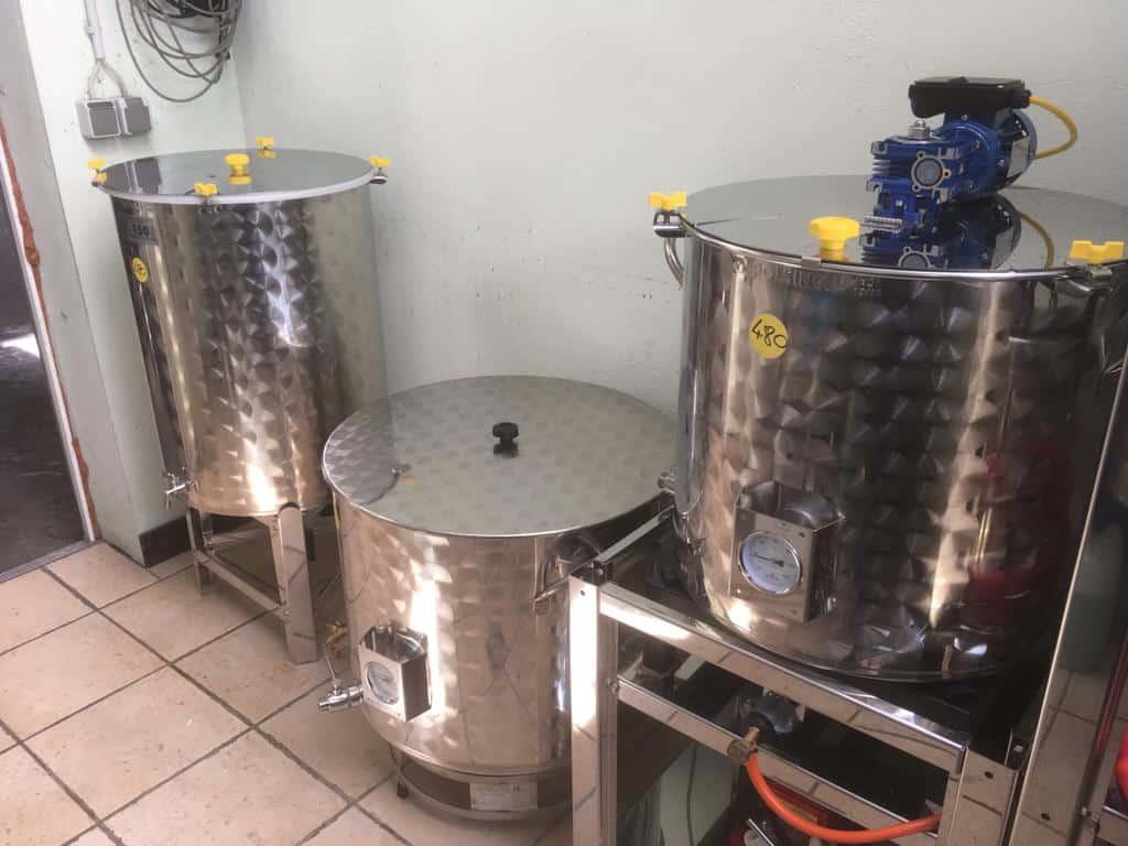 Die Craft-Beer Brauanlage