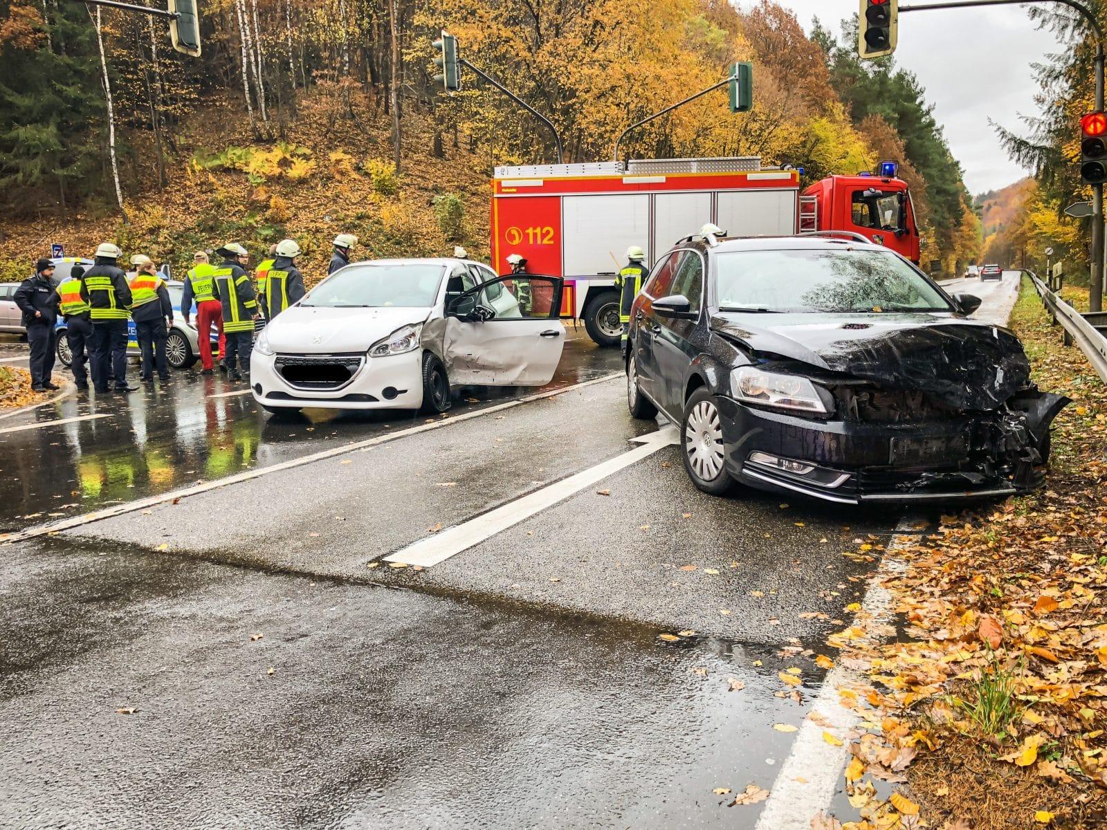 St. Ingbert: Feuerwehr befreit nacher Unfall eingeschlossene Person